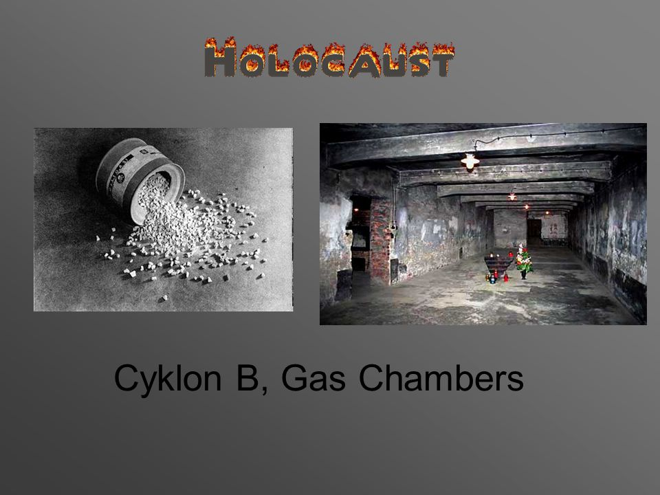 Cyklon B, Gas Chambers
