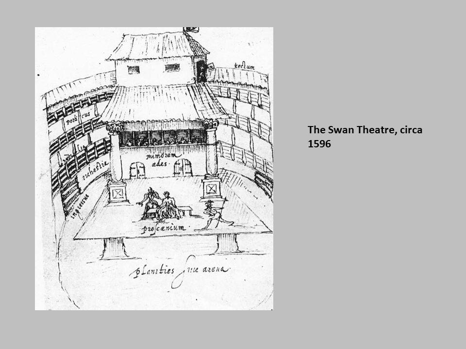 The Swan Theatre, circa 1596