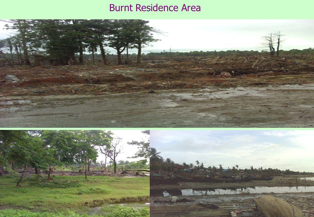 Burnt Residence Area