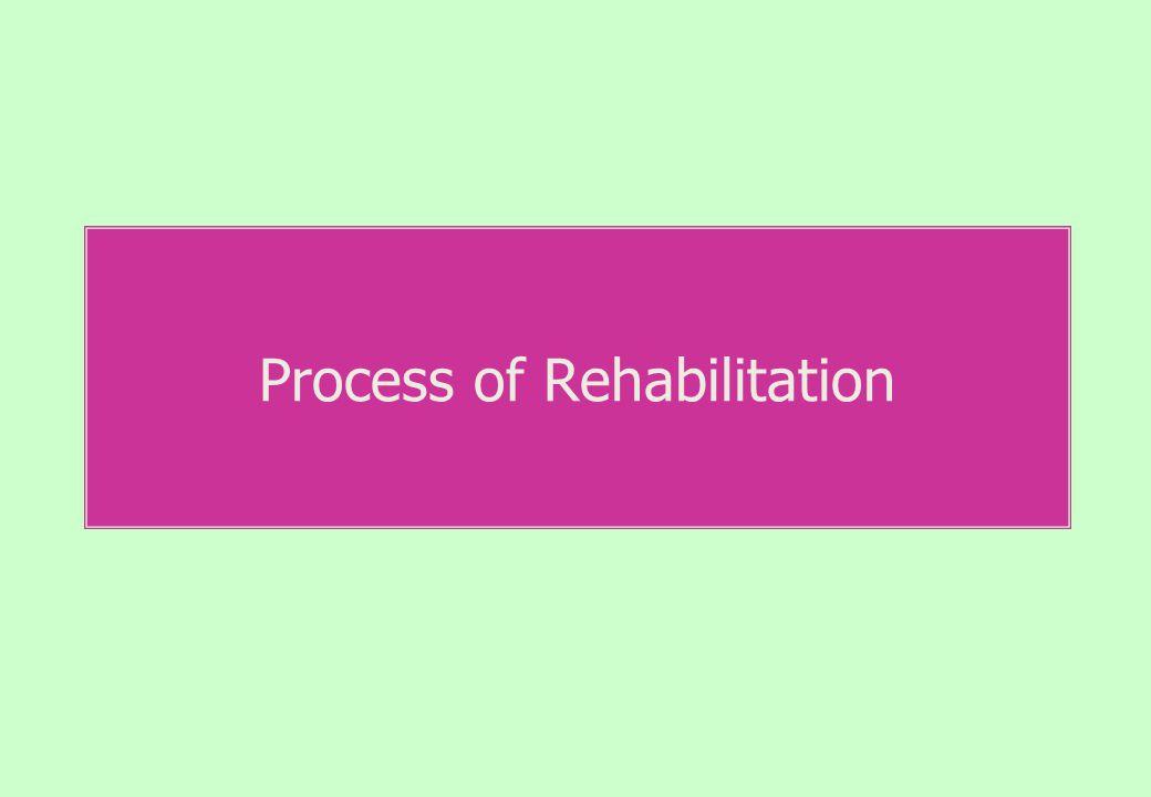 Process of Rehabilitation