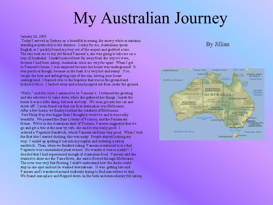 My Australian Journey By Jillian