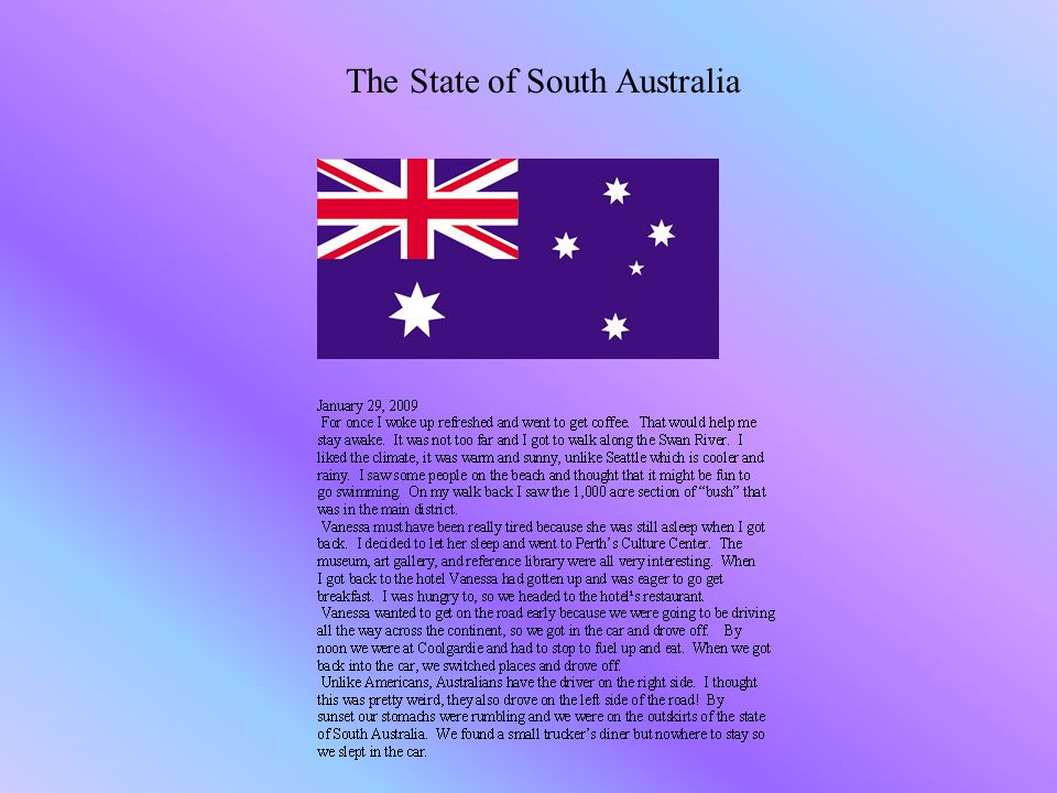The State of South Australia