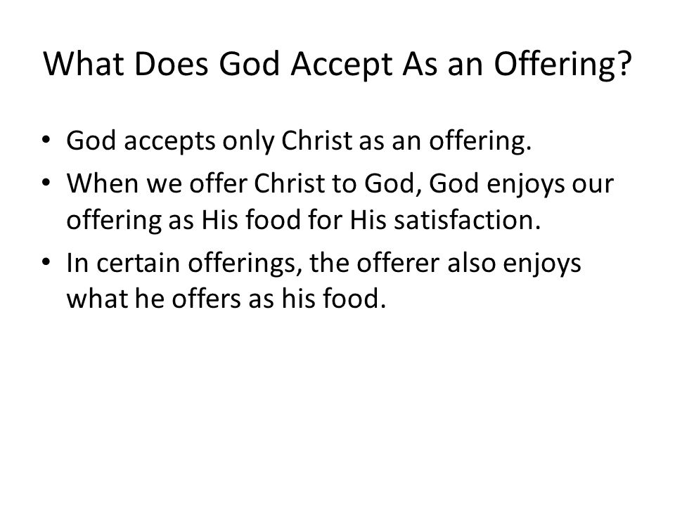 Where Are the Offerings Offered in Leviticus.