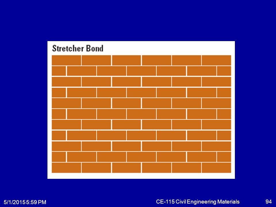 5/1/2015 6:01 PM CE-115 Civil Engineering Materials94