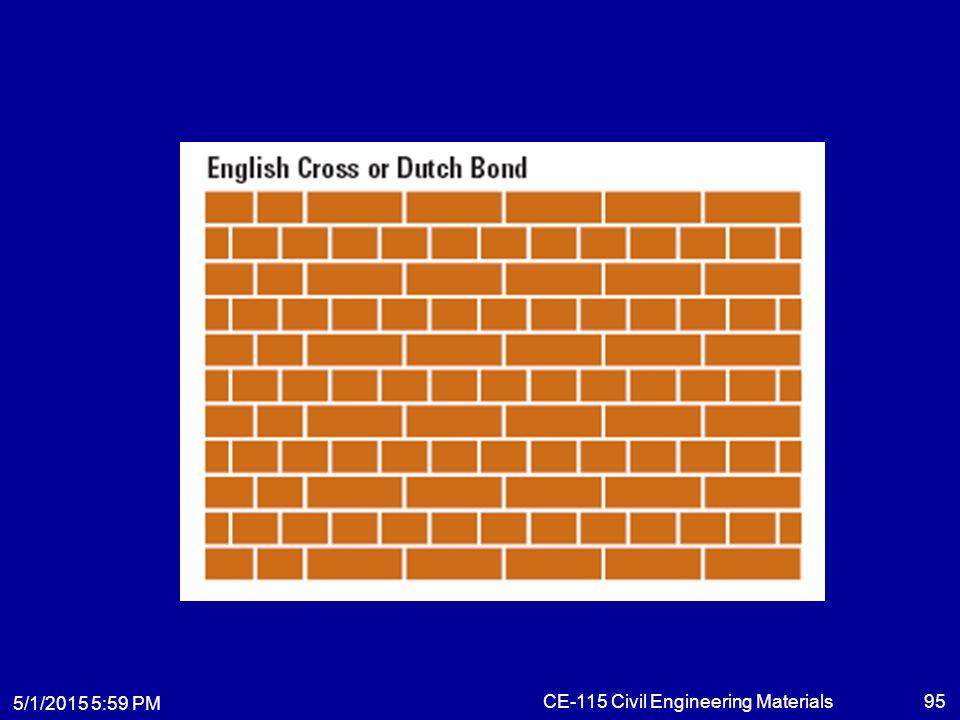 5/1/2015 6:01 PM CE-115 Civil Engineering Materials95