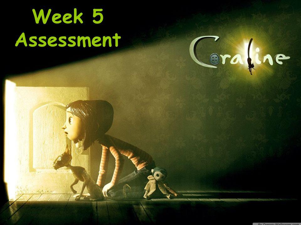 Week 5 Assessment
