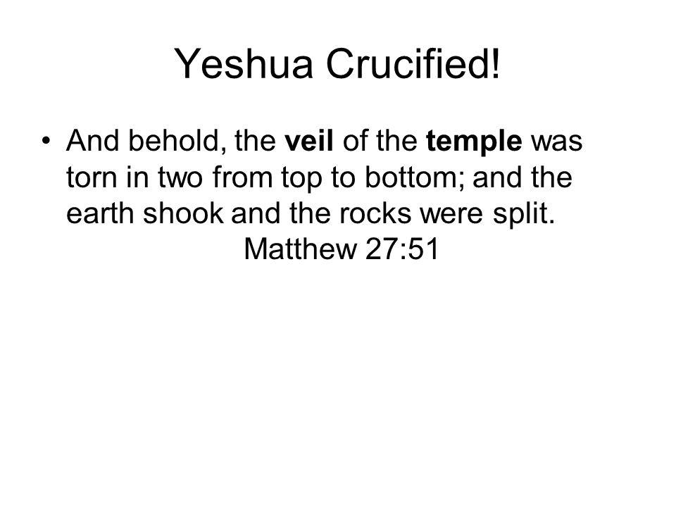 Yeshua Crucified.