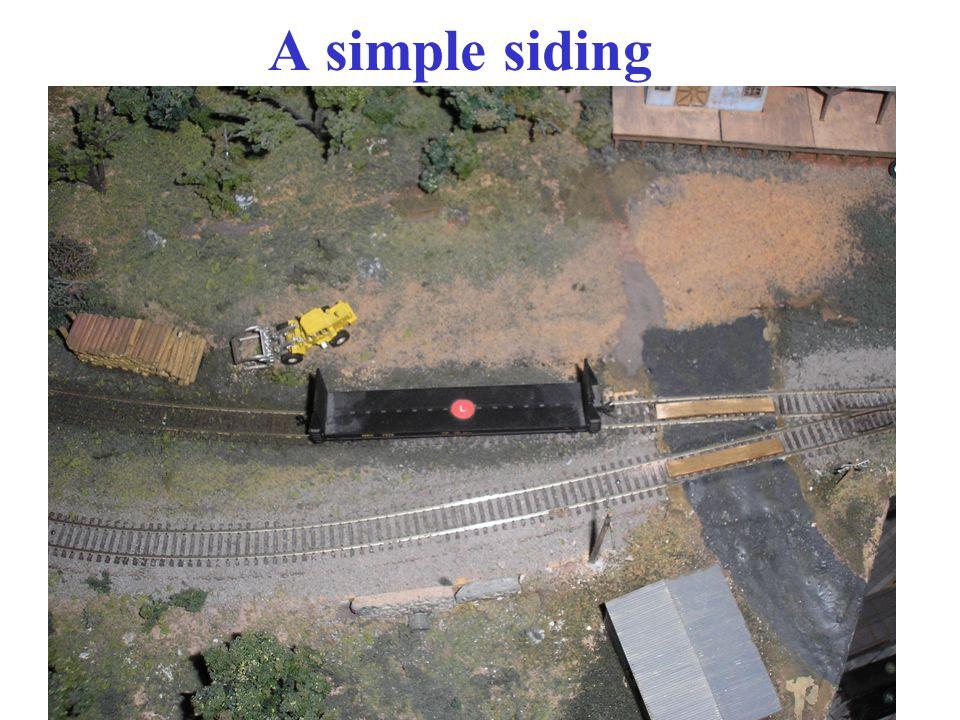 A simple siding