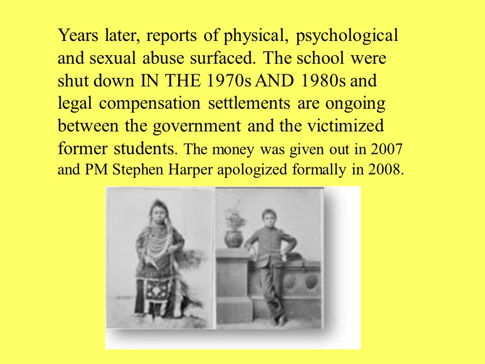 Years later, reports of physical, psychological and sexual abuse surfaced.