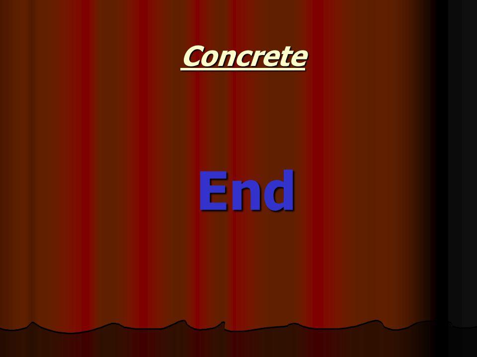 End Concrete