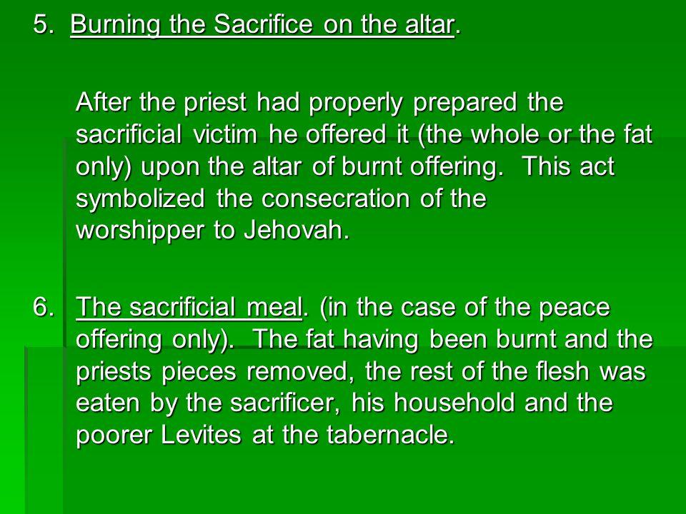 Leviticus 1:10-17Various Offerings.