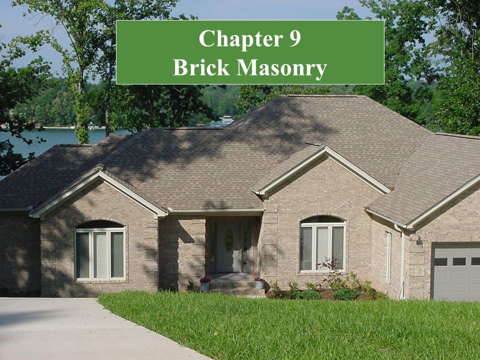 Chapter 9 Brick Masonry