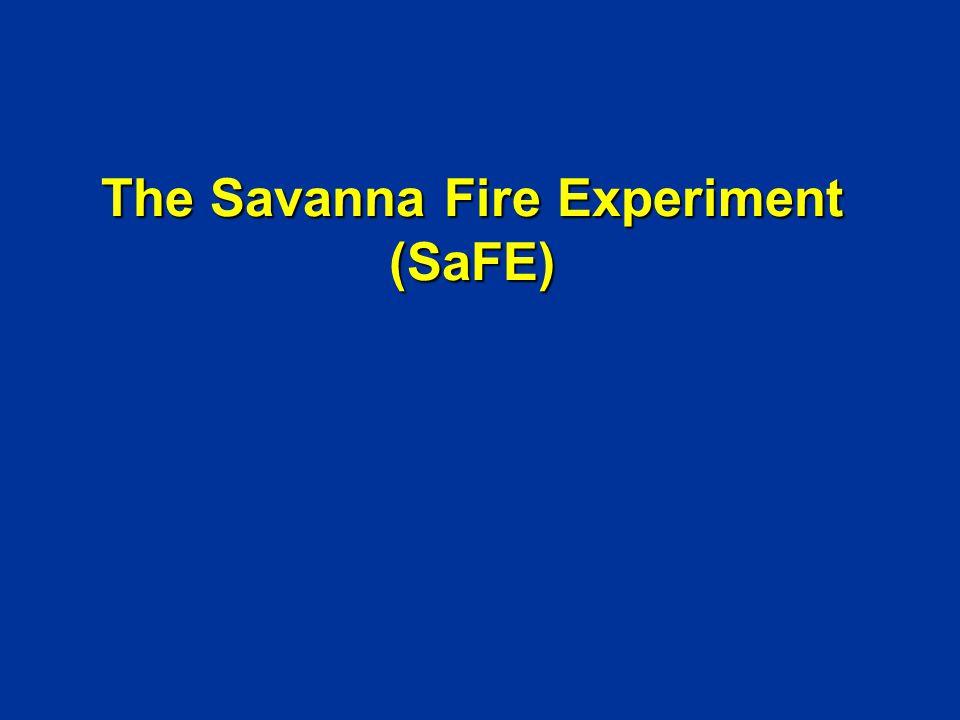 The Savanna Fire Experiment (SaFE)