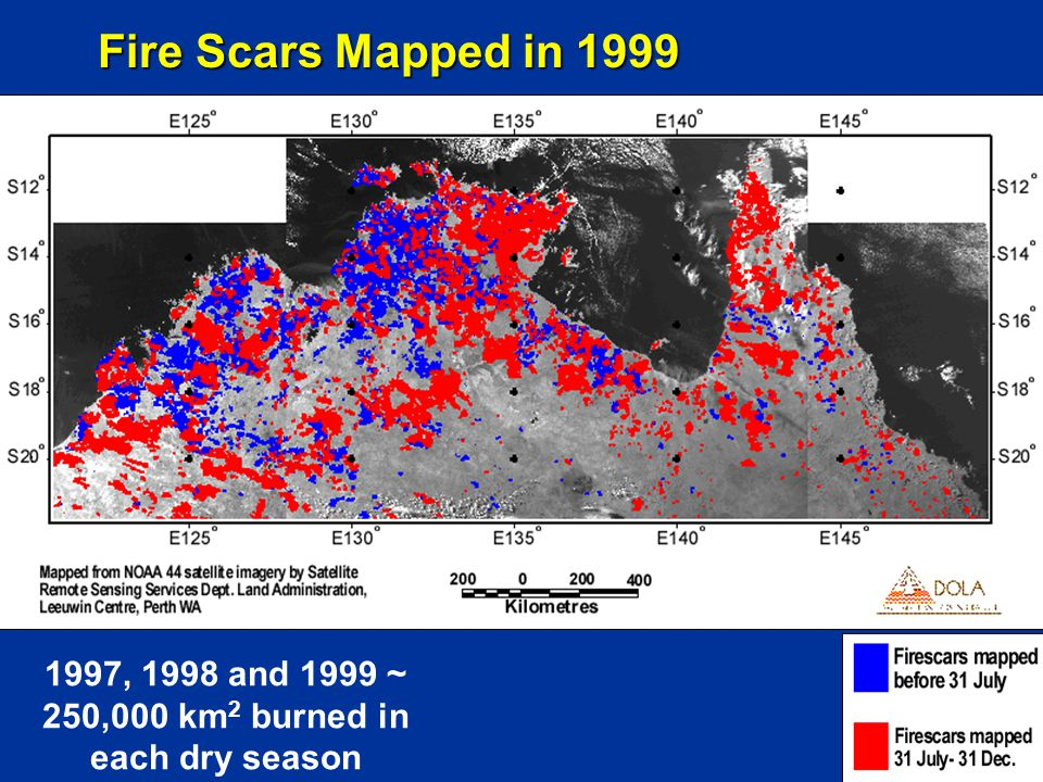 Atmospheric Implications of Local- to Regional Scale Variations in the Surface Energy Balance  Knowles (1993) in a theoretical and modelling study of forest fire scars in Alaska showed that, depending on the aerodynamic changes to vegetation following fire, enhanced sensible fluxes over patches of burnt landscape (on the order of 10 km in diameter) would be likely to produce localized areas of convergence and divergence and associated mesoscale circulation systems Fire Scars