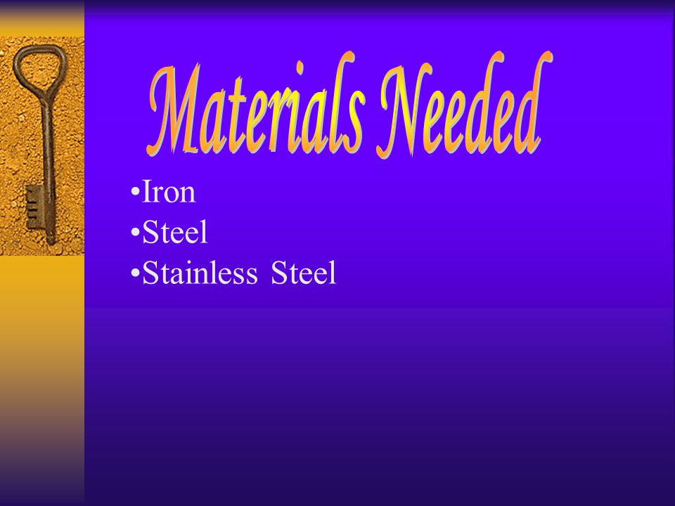 Iron Steel Stainless Steel