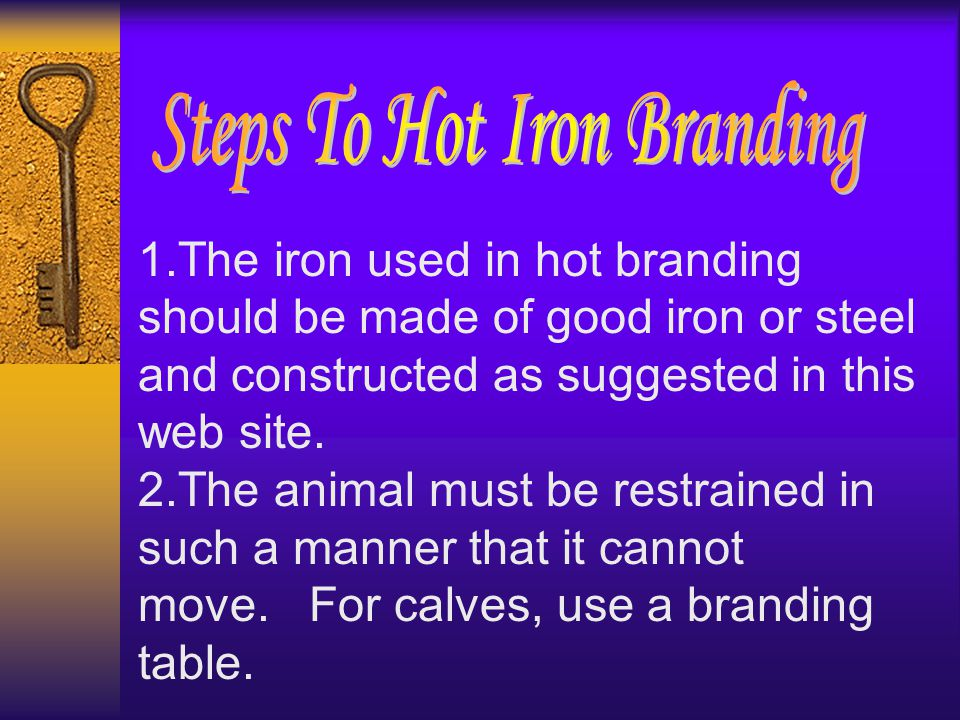 3.Check your iron for temperature.