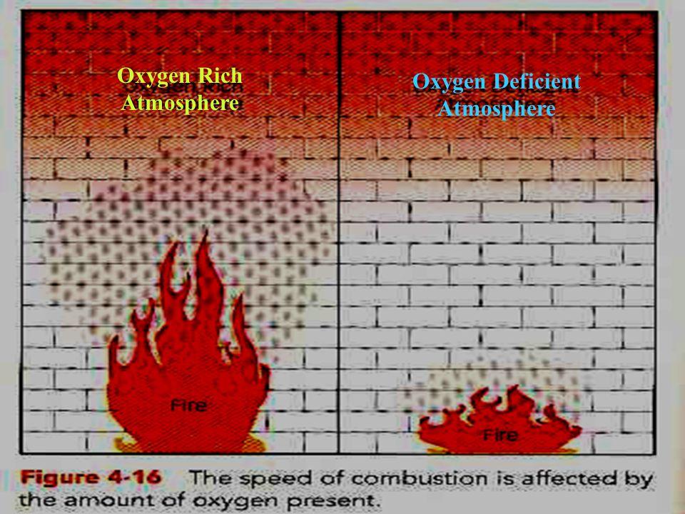 13 Oxygen Rich Atmosphere Oxygen Deficient Atmosphere