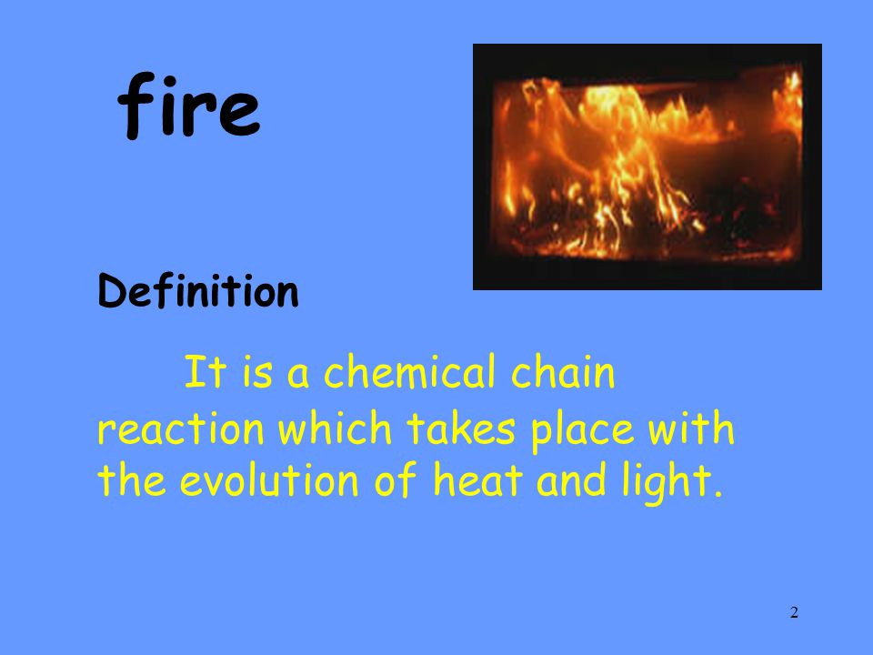3 Fire triangle