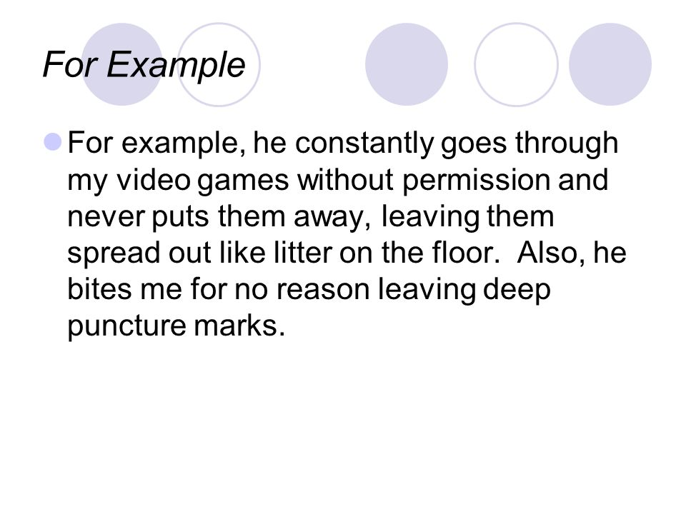 Descriptions Are ways to create vivid images for the reader (5 senses).