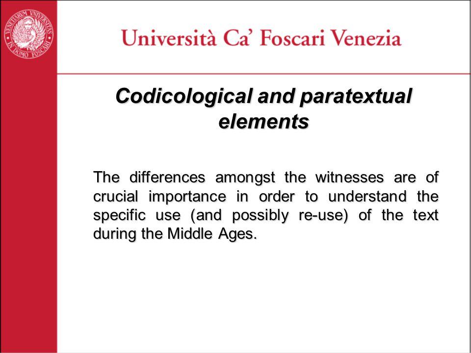 Encoding paratextual features Glosses gitalas lungras