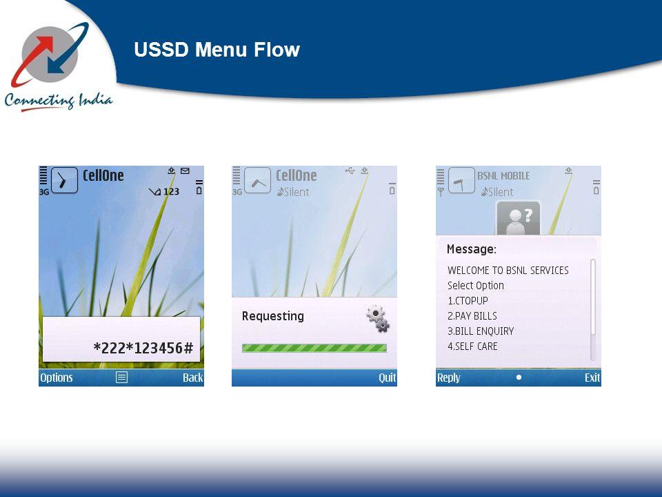 USSD Menu Flow
