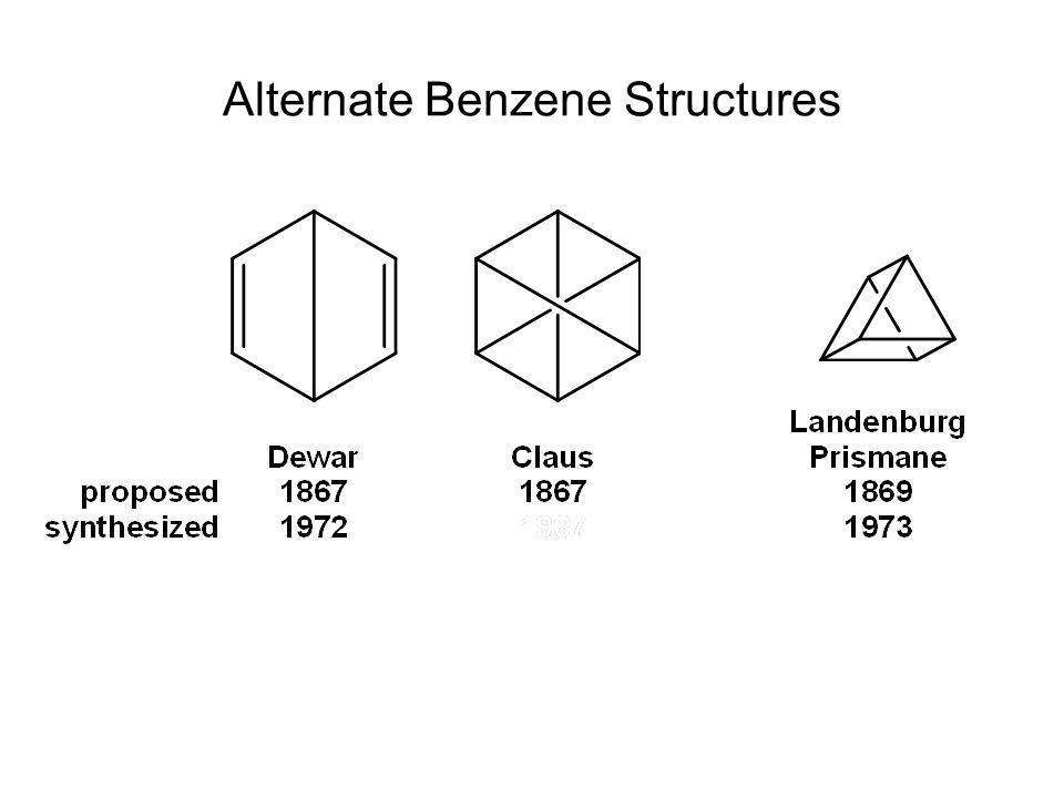 Alternate Benzene Structures