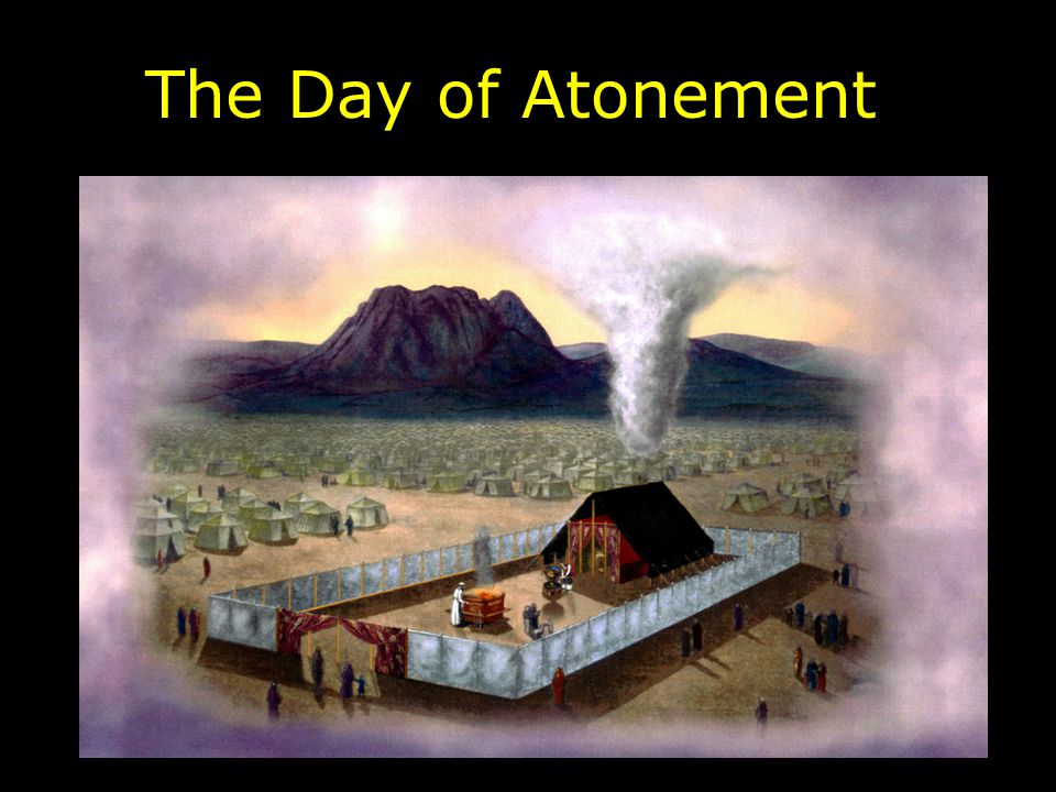 And when he has made an end of atoning for the Holy Place, the tabernacle of meeting, and the altar, he shall bring the live goat.