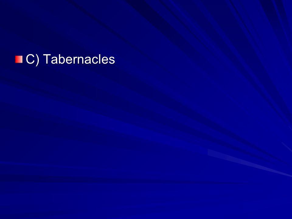 C) Tabernacles