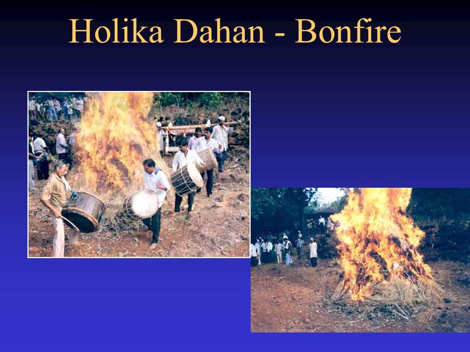 Holika Dahan - Bonfire