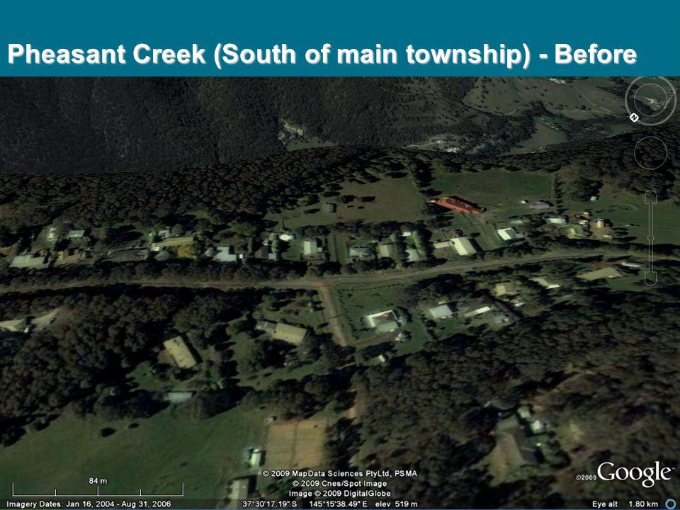 Pheasant Creek (South of main township) - Before