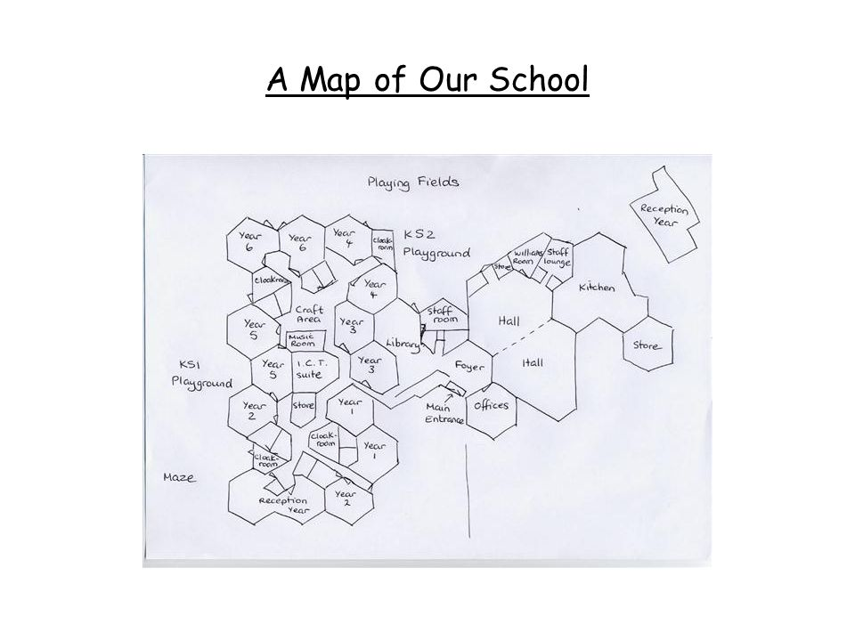 A Map of Our School