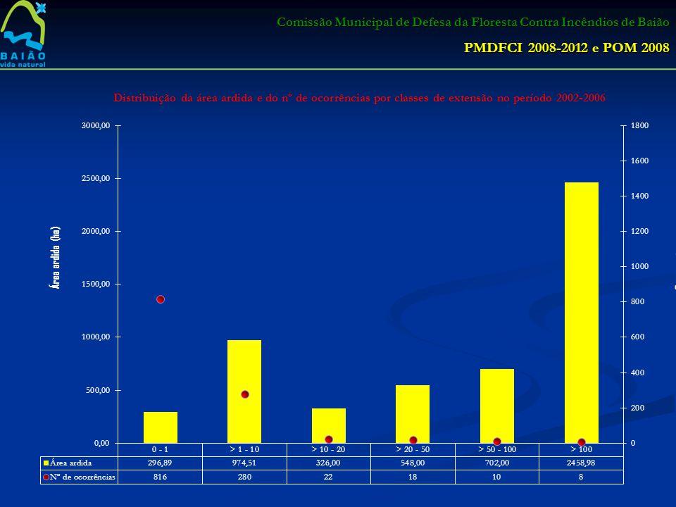 Comissão Municipal de Defesa da Floresta Contra Incêndios de Baião PMDFCI 2008-2012 e POM 2008