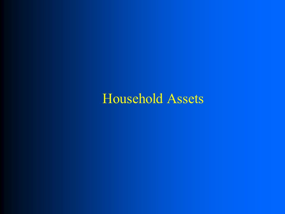 Household Assets