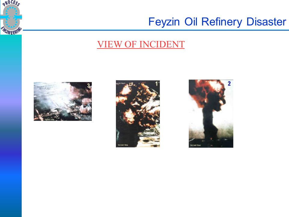 Feyzin Oil Refinery Disaster VIEW OF INCIDENT