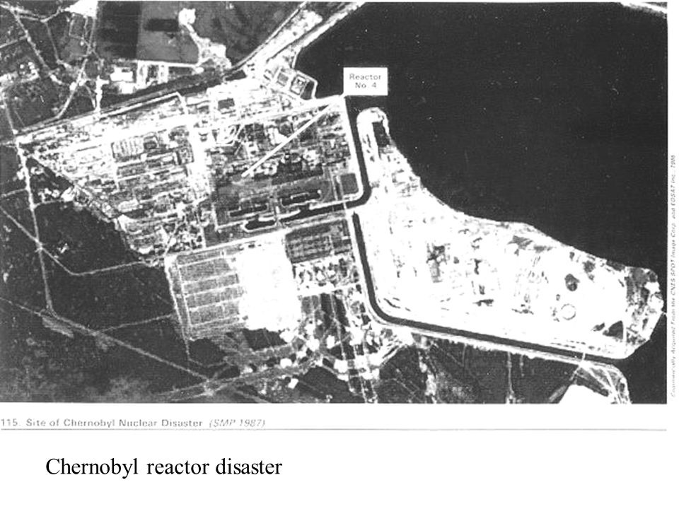 Chernobyl reactor disaster