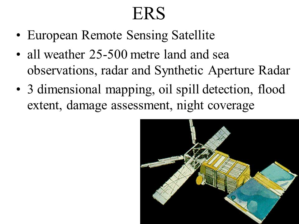 Uses of RS for Disaster Management Flooding A combination of both optical and radar remote sensing can provide a model for estimating likelihood of floodplain inundation (Townsend and Walsh, 1998) Often, detailed hydrological models are as important as the remotely sensed data to estimate risk and undertake effective post-disaster management