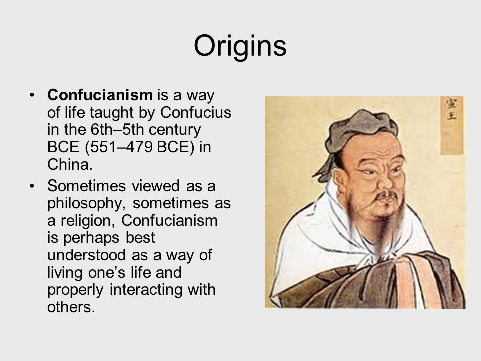 Adherents Approximately 5 to 6 million people follow Confucianism.