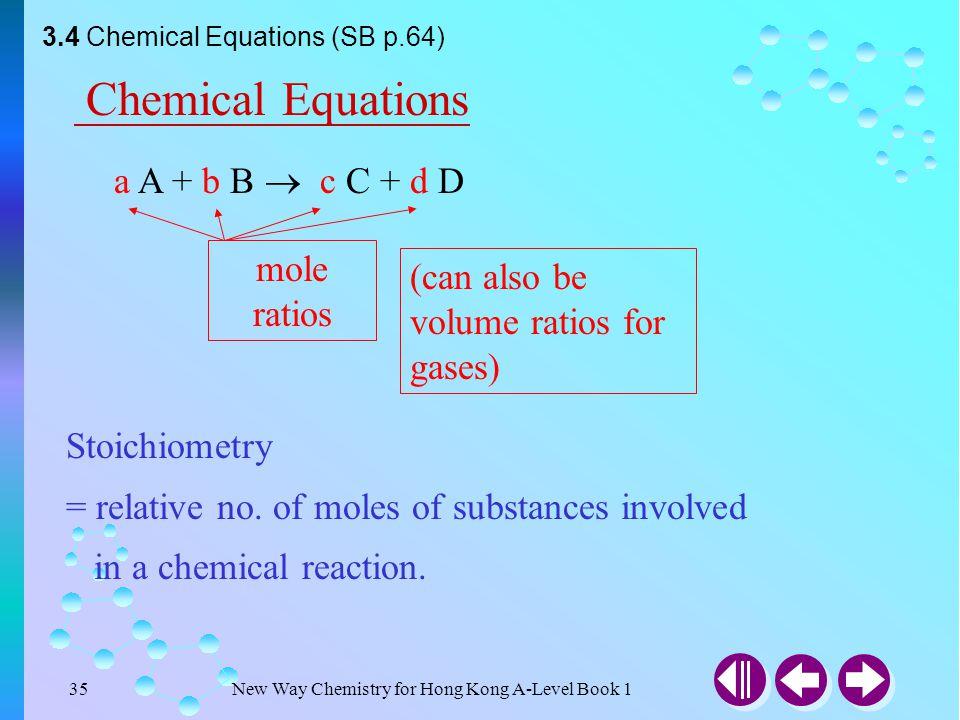 New Way Chemistry for Hong Kong A-Level Book 134 3.3 Derivation of Molecular Formulae (SB p.63) (b)( i) Molar mass of Na 2 SO 4 ·10H 2 O= 322.1 g mol