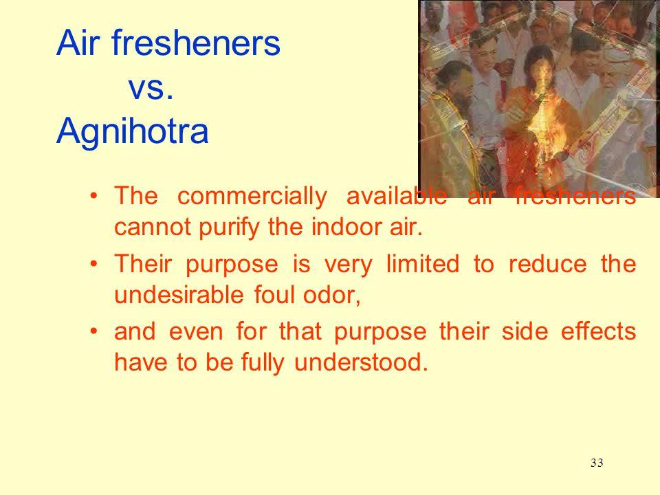 33 Air fresheners vs.