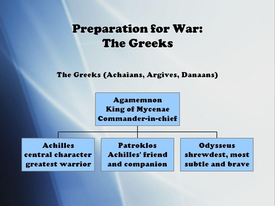 Preparation for War: The Greeks