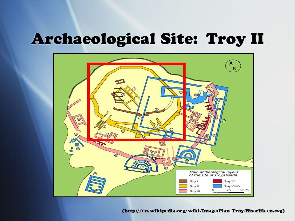 Archaeological Site: Troy II (http://en.wikipedia.org/wiki/Image:Plan_Troy-Hisarlik-en.svg)