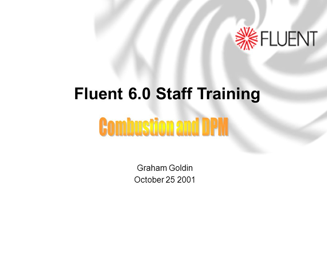Company Confidential Copyright 2001 Fluent Inc.All rights reserved.