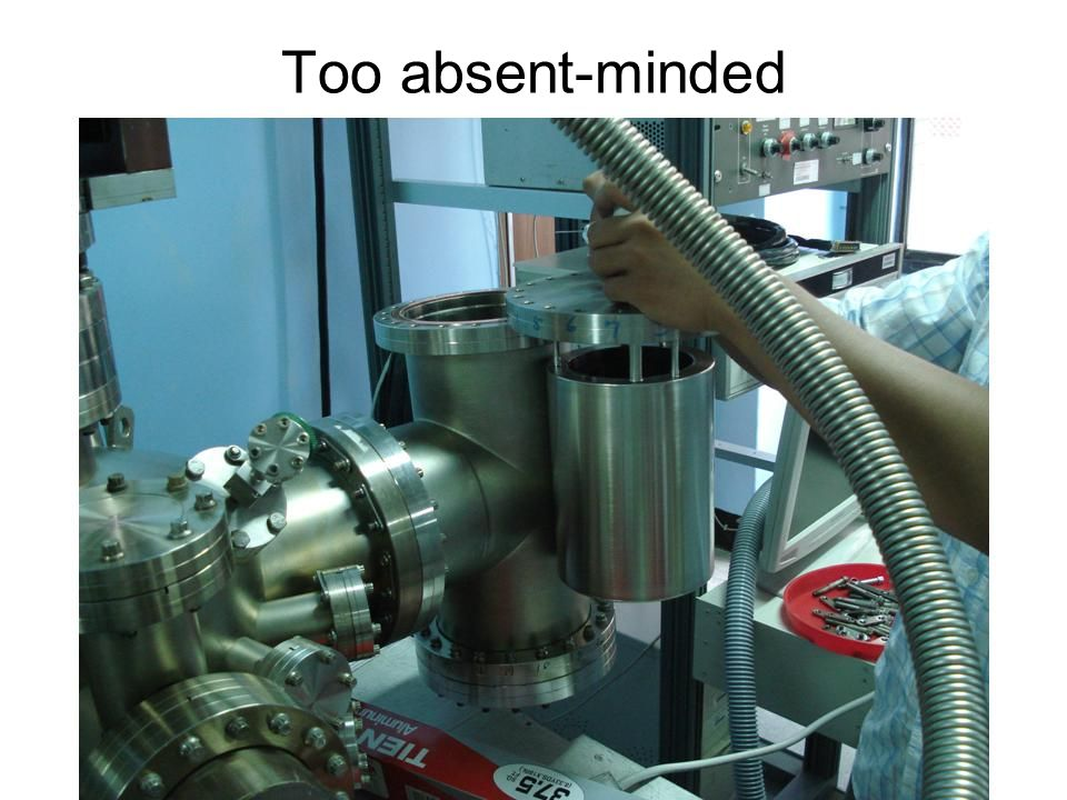 Too absent-minded