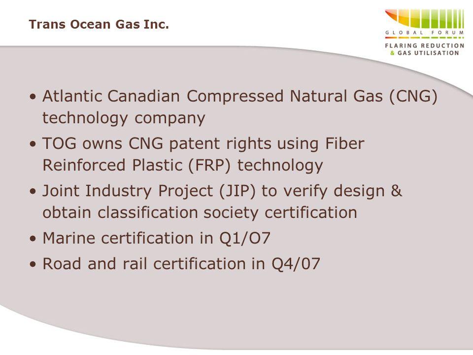 Trans Ocean Gas Inc.