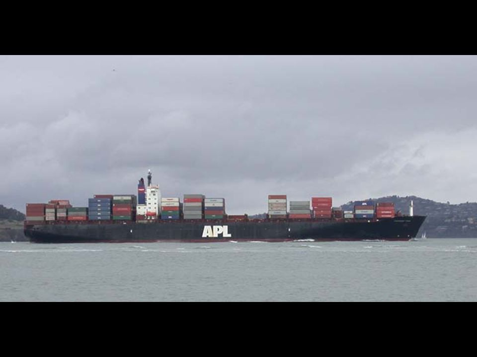 11. Container ship