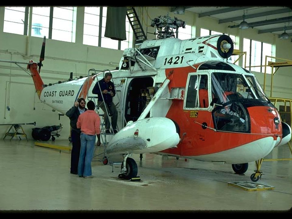 21. Coast Guard helicopter