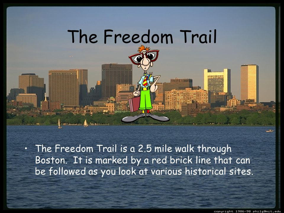 Follow Me Along the Freedom Trail