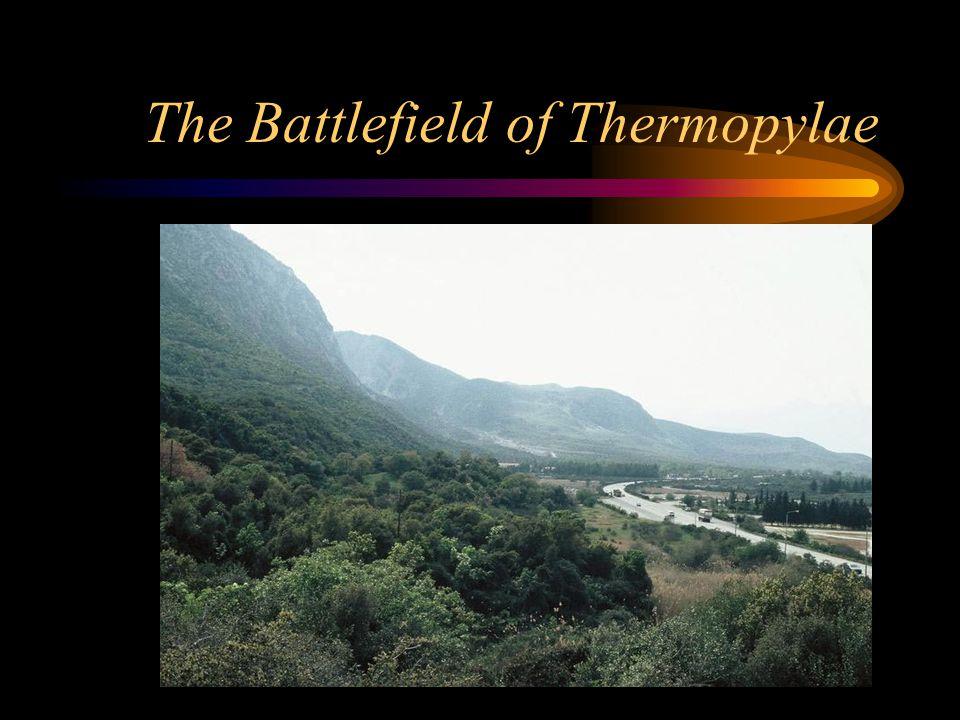 The Battlefield of Thermopylae