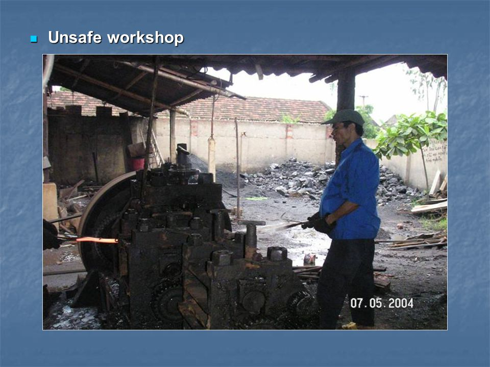 Unsafe workshop Unsafe workshop