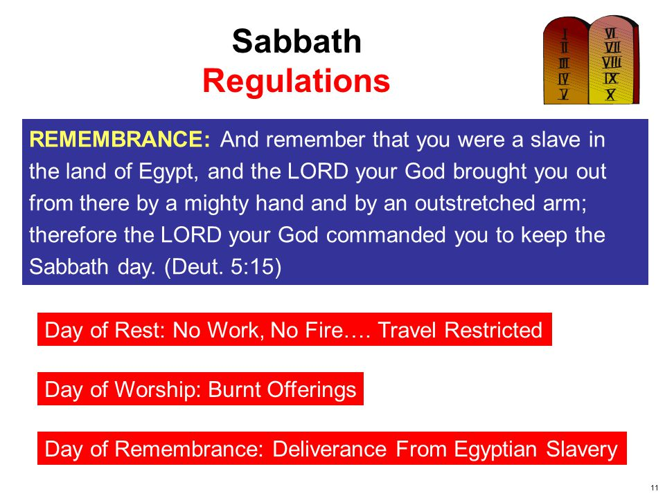 12 Sabbath Penalty for Violation DAY OF REST: You shall keep the Sabbath, therefore, for it is holy to you.